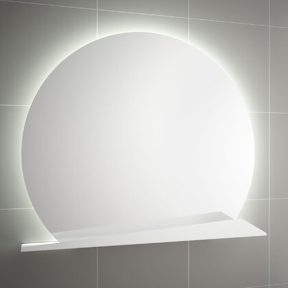 SUNRISE 800 round with shelf with LED light