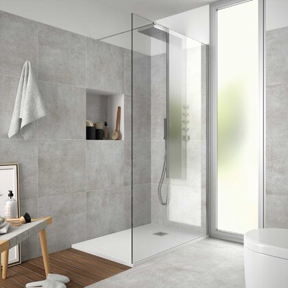Shower screen HEAVEN step-through Transparent600